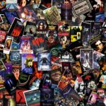 the unclean horror movie collage